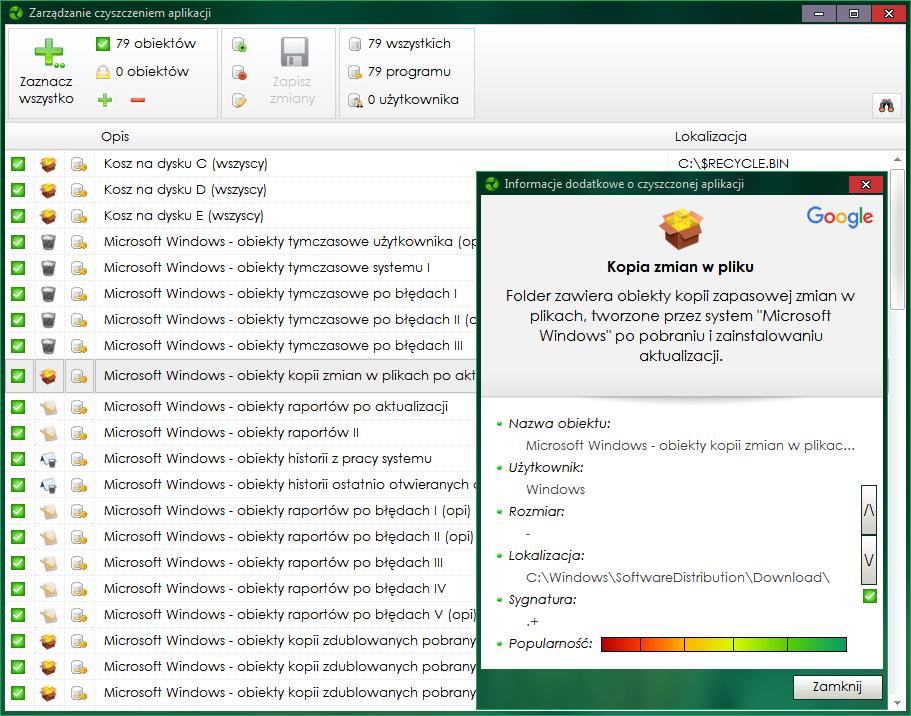 01e9c22803799f ... możliwość sprawdzenia dodatkowych informacji o obiekcie w Google  (Polska) przez okna